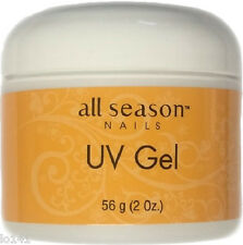 All Season UV Nail Sculpting Gel THICK CLEAR 2 oz./ 56 g.