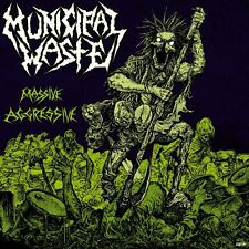 "Municipal Waste ""Massive Aggressive"" CD - NEW!"