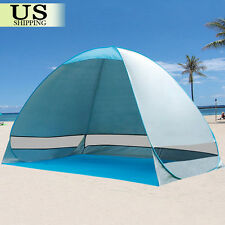 Pop Up Portable Beach Canopy Sun Shade Shelter Outdoor Camping Fishing Tent 190T