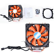 New Dual Fan CPU Quiet Cooler Heatsink for Intel LGA775/1156 AMD 95W WF