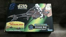 Star Wars Power Of The Force power racing speeder bike Scout Trooper Kenner 1997