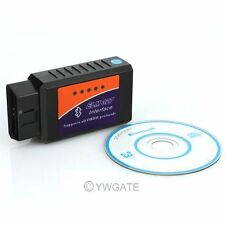 1x ELM 327 Bluetooth OBD2 ODB2 Diagnostique DIAG Scanner Torque Android Neuf
