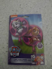 PAW PATROL PINK SKYE AND EVEREST XL FOIL BALLOON 17INS DOUBLE SIDED BIRTHDAY