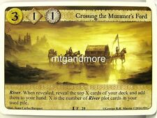 A Game of Thrones LCG - 1x Crossing the Mummer's Ford  #020 - Spoils of War