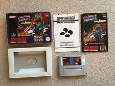 Captain America and the Avengers - SNES Super Nintendo PAL UKV CIB Boxed