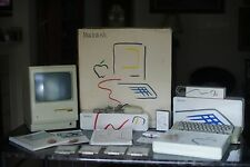 1984 Apple Macintosh 128K M0001 Computer Complete in Box + Travel Bag (MINT)
