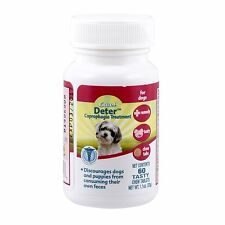 Excel 8 in1 Deter Coprophagia Treatment Forbid Dog Puppy Fecal Stool Eating 60ct