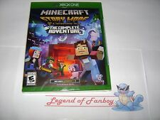 * New * MineCraft Story Mode: The Complete Adventure (1-8) - Microsoft Xbox One