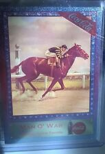 MAN O' WAR FOIL PRISMATIC CARD 1995 COCA COLA