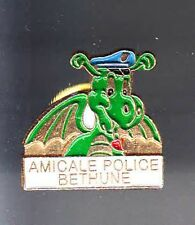 RARE PINS PIN'S .. POLICE NATIONALE  DRAGON BETHUNE 59 ~BF