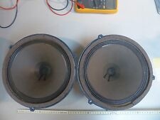 Pair 25er Telefunken Alnico ela l-6 vintage Alnico fullrange speaker ultra Rare