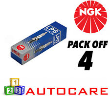 NGK LPG (GAS) Spark Plug set - 4 Pack - Part Number: LPG2 No. 1497 4pk