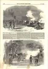 1854 tirs de canon dans le parc et la tour grande victoire de la crimée