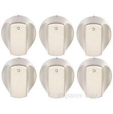 Interruptor de control de Plata Perillas Para ARISTON ARI IX Horno caliente cocina encimera repuesto X 6