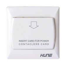 Wall Mounted Motion Light Hotel Energy Saving Switch For Low Frequency Card,