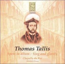 Thomas Tallis: Spem in alium; Sing and glorify (CD, Jun-2003, Signum Classics)