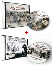 WK2 DOPPIO CD - MANIFESTO LUTTO + FOTO GROSSDEUTSCHLAND IM EVENTI NEL MONDO