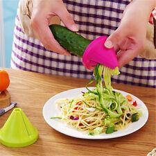 Kitchen Gadget Funnel Model Spiral Slicer Vegetable Shred Carrot Radish Cutter