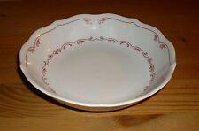 Oskar Schaller & Co  Bavaria 1 Untere, Untertasse,  Weiß mit rosa Dekor