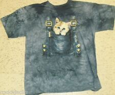 Cat Kitten Animal T-Shirt Youth sz. XL Brand New! TIE DYE Made by THE MOUNTAIN