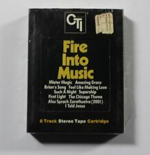 VARIOUS Fire Into Music 8-TRACK CTI Rec CTSB-2 US 1975 M SEALED