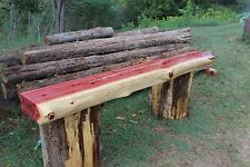 Fireplace Mantel  Floating Shelf Rustic Red Cedar Beam Custom Made in  8ft USA