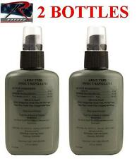 Military 7727 Mosquito Insect Repellent Spray 30% DEET - 2 BOTTLE PACK!!