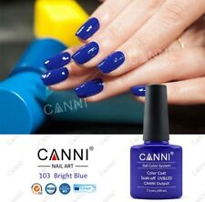 103 CANNI BRIGHT BLUE UV LED SOAK OFF GEL COLORS NAIL ART 7.3ml UK SELLER