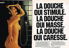PUBLICITE ADVERTISING 045  1979  HANSGROHE   robinets de douche ( 2 pages)