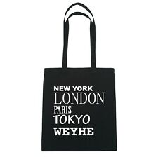 New York, London, Parigi, Tokyo CRAWLEY - Borsa Di Iuta Borsa - Colore: nero
