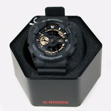 NEW RELEASE! CASIO G-SHOCK GA110RG-1A ROSE GOLD ANALOG & DIGITAL MATTE BLACK
