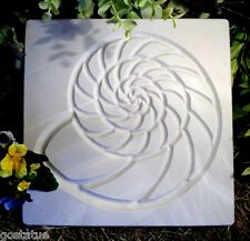 etched shell stepping stone plastic mold see more similar sea designs too!