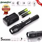 4000Lumen Zoomable 5 Modes CREE XML T6 LED Flashlight Torch Lamp Light 18650 lot