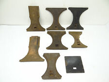 Antique Lot Old 8 Snap Ship 114 214 122 7-14 Cooker Stove Grate Holder Parts