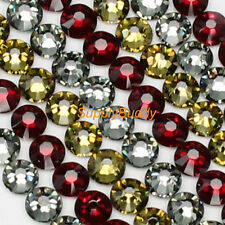 Swarovski Rhinestone Nail Art Crystal ss5 Mix Color Siam Khaki Black Diamond