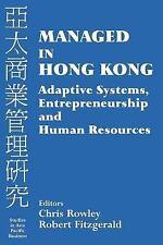 Managed in Hong Kong: Adaptive Systems, Entrepreneurship and Human Res-ExLibrary