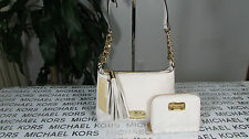 NWT Michael Kor Leather Bedford Small Crossbody Bag With Wallet Vaillan