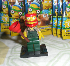 LEGO The Simpsons Minifigure WILLIE Groundkeeper Giardiniere Series 2 Completo