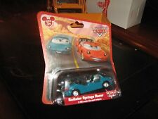 Disney Cars Radiator Springs Racers TEAL Car RARE