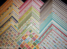 12x12 Scrapbook Paper Best of Jillibean Soup Collection Everyday Life 60 Lot Kit
