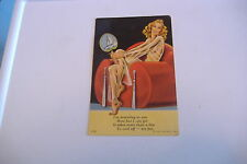 VINTAGE POSTCARD ~I'M REVEALING TO YOU HOW HOT I CAN GET IT TAKES MORE THAN ...~