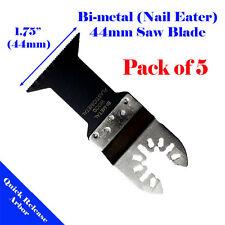 5 Bi-metal Saw Blade Oscillating Multi Tool Dewalt Rockwell Hyperlock Bosch Fein