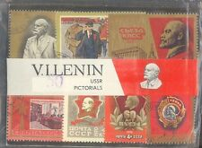 V.I.LENIN USSR PICTORIAL 50 DIFFERENT THEMATIC STAMPS RARE CTO