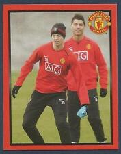 PANINI MANCHESTER UNITED 2008/09 #142-NORTHERN IRELAND-JONNY EVANS IN TRAINING