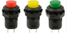 5Pcs Technical Locking Momentary ON/OFF Push Button Car/Boat Switch 12mm