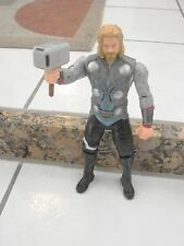 """THOR THE MIGHTY AVENGER MOVIE FIGURE 10""""  LIGHT UP HAMMER Talking  2011"""