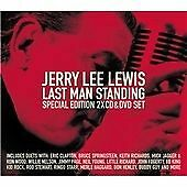 JERRY LEE LEWIS, LAST MAN STANDING, RARE 2-CD+DVD, NEW & SEALED Jimmy Page Jagge