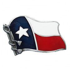 Gürtelschnalle Buckle Gürtelschließe für Wechselgürtel Flagge Texas Lone Star