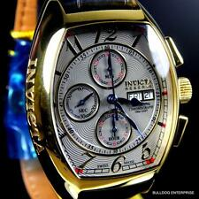 Invicta Reserve Tonneau Specialty Swiss Automatic Sellita SW500 Gold Plated New