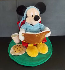 Mickey Mouse Disney Plush T'was the Night Before Christmas Reading Story Musical